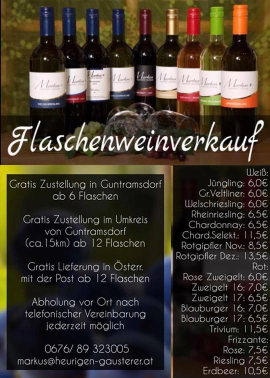 flaschenweinverkauf